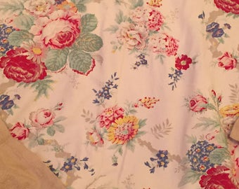 Vintage Ralph Lauren bedding duvet twin elise pattern getting htf a favorite