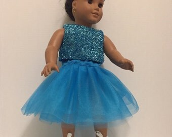 Tutu dress for 18 inch doll