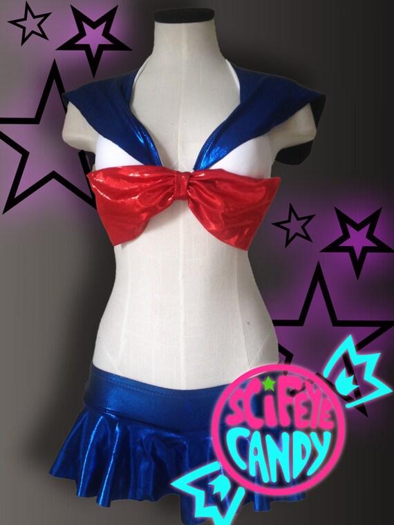 Sailor Moon Lingerie Set by SciFeyeCandy