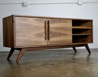 The Lemonade A Mid Century Modern TV Stand TV