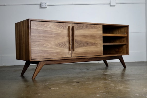 The Stella J Is A Mid Century Modern Tv Console