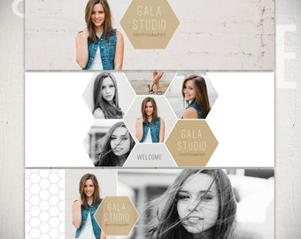 Facebook Timeline Cover Templates: Gala Studio - 3 Facebook Covers
