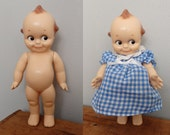 """Vintage 1950's 9"""" Tall KEWPIE DOLL marked  Rose O'Neill"""