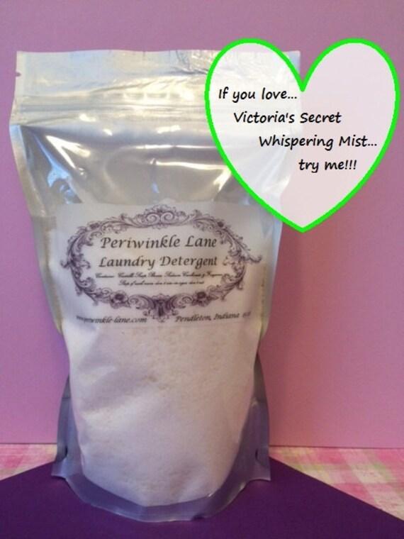 Victoria S Secret Whispering Mist Type Laundry Detergent