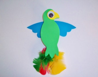 P is for PARROT craft kit