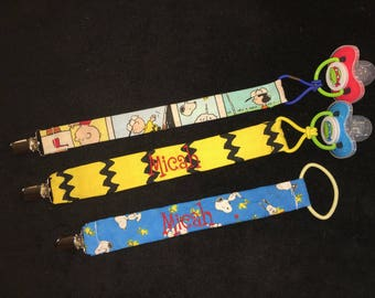 Pacifier Clips