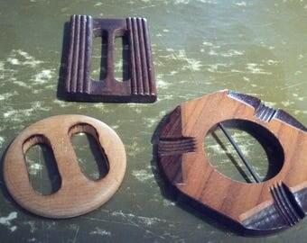 Wood Buckles