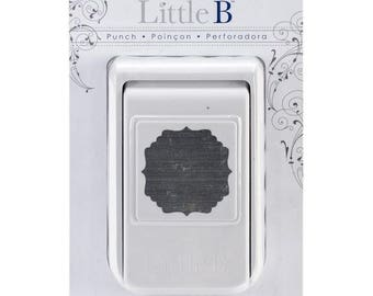 Little B Decorative Bordered Square Punch NEW