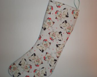 Happy Little Kittens Holiday Stocking