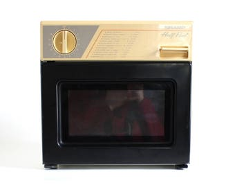 Sharp Half Pint Microwave Oven R-4065 Kitchen Appliance Vintage Cube 1/2 Pt