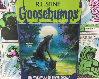 Goosebumps #14 - The Werewolf of Fever Swamp - R.L. Stine - Young Adults