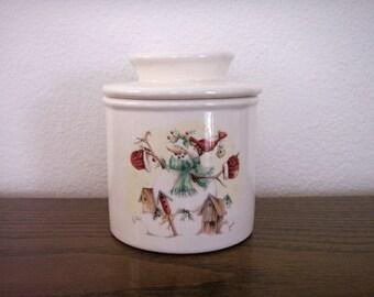 Ceramic Fresh Butter Keeper Crock