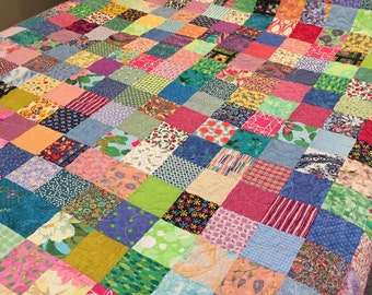Country Quilts - Queen Quilts - Patchwork Quilt - Queen Blanket - Traditional Quilts - Handmade Quilts - Quilts, Queensize Quilts, 7