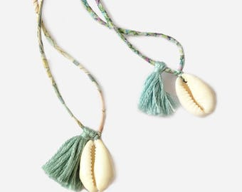 Cowrie Necklace - Collier Cauri Liberty