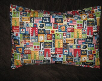 NEW YORK/Manhattan ICONS  Travel/Accent/Lumbar pillow cover