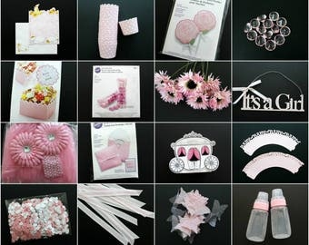 Pink Baby Shower Party Box!  Everything you need to get your party started!