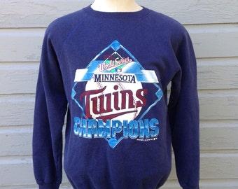 1987 Minnesota Twins sweatshirt, S-M