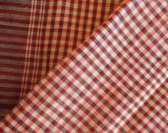 Krama, Cambodia Khmer Scarf, Black, red check pattern