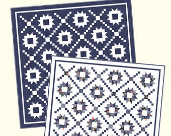 Summer Nights quilt pattern by Bonnie Olaverson for Cotton way