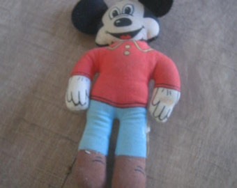 Vintage Mickey Mouse 5 1/2""