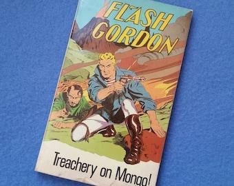 Flash Gordon Treachery on Mongo vintage book comic book 1982