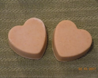 Goat Milk Soap in Heart Shape