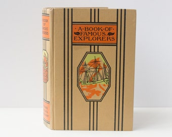 A Book of Famous Explorers Journal