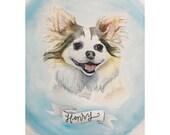 Pet portrait for Stephanie