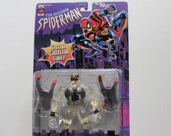 Vintage The Amazing Spider-Man Venom Action Figure 1996 NIB