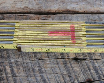 Vintage Klein Folding Ruler No. 905-6