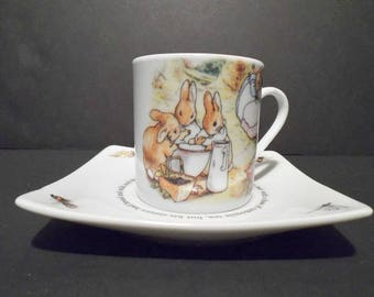 Beatrix Potter's Peter Rabbit Collectible Cup and Saucer