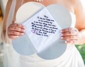 Wedding handkerchiefs for...