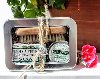 Gift for Her / Gardener's Gift Tin / Gifts for Her / Garden Care Gift Tin