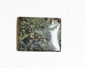 Jasper Rectangle Pendant Bead