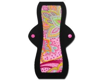 """Reusable Feminine Pad (10"""" Heavy - Blossom Minky)"""