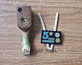 Pocket Pipe - Travel Pipe - Personal Pipe - Wood Pipes - Pipes n Screens - Handmade Pipes - Elusive Wolf
