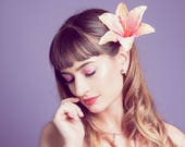 Tutti Frutti Tropical Lily Hair Flower Fascinator