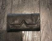 Women wallets- Black Leather purse