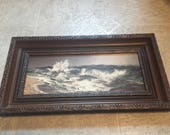 Gorgeous sea framed print