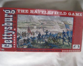Vintage Gettysburg The Battlefield Game SEALED