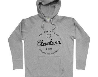 Enjoy Cleveland Hoodie - Men S M L XL 2x 3x - Hoody, Sweatshirt, The Forest City Hoody, Cleveland Ohio Hoody, Clevelander Pride, The 216