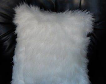 Fur Pillow Etsy