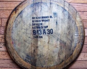 Authentic Kentucky Bourbon Barrel Lazy Susan