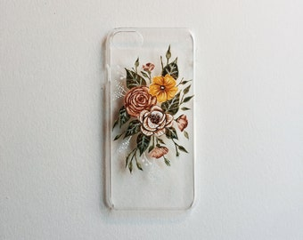 Floral Boquet iPhone 6, iPhone 6s, iPhone 7 Case