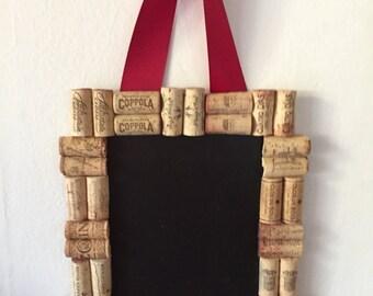 """Wine Cork Chalkboard 9.5"""" x 12.5"""""""