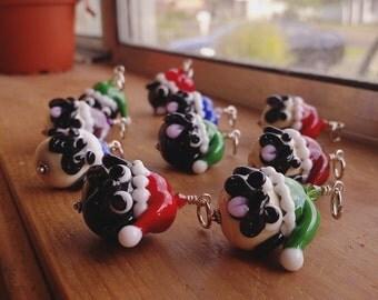 Santa Pug - MADE TO ORDER