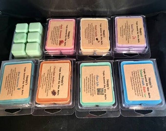 Free Sh! 2 Clam Shell ISLAND NECTAR type* Noopy's Triple Scented Soy Wax Melts/Tarts