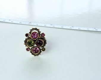 Sarah Coventry Adjustable  ring # 818
