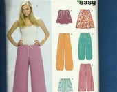 15% OFF SPRING SALE New Look 6710 Drawstring Waist Skirts Shorts & Sweats Sizes 10 to 22