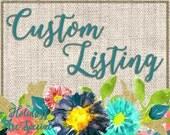 Custom Listing for Dewana